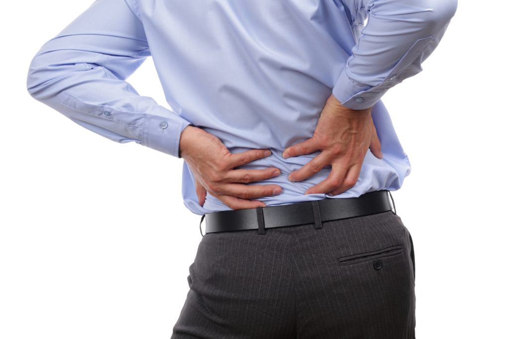 Lower back pain treatment cardiff